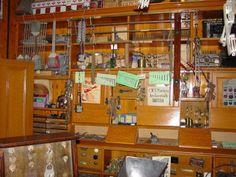 Edwardian hardware store at Beamish