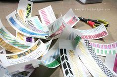 Balzer Designs - Make your own washi tape