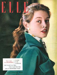 Elle - Brigitte Bardot - January 1952.
