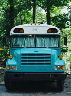 At Home Anywhere: Living on a Bus | Design*Sponge