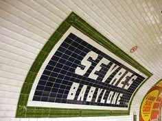 Metro de Paris - Ligne 12 - Sevres - Babylone 02 - Sèvres - Babylone (métro de Paris) — Wikipédia