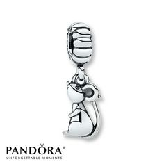 Pandora Dangle Charm Mouse  Sterling Silver