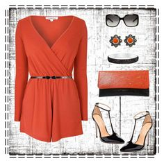 """""""romper"""" by gallant81 ❤ liked on Polyvore featuring Glamorous, Maiden Lane, Bling Jewelry and Gucci"""