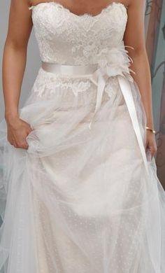 """Christos """"Camilla"""" gown -  #weddings #bride"""