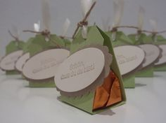 10 Gastgeschenke zur Hochzeit / Taufe TISCHDEKO