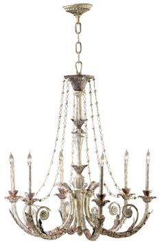 The Abelle Chandelier - Chandeliers, Lighting, Home Decor | Soft Surroundings