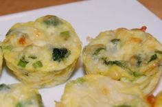 Mini Veggie Frittatas from Once a Month Mom | OAMC from Once A Month Meals