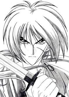 Rurouni Kenshin Drawing Manga
