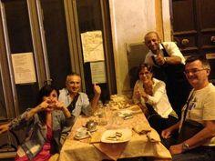 Alcuni dei nostri ospiti ... Ristorante Piccolo Arancio #Roma