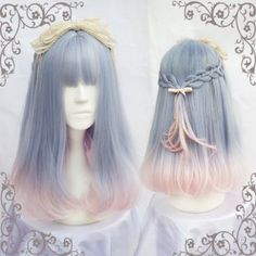 Japanese fashion cutekawaii cosplay wigs YV5069