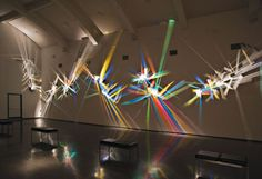 """Prism Party"" Light Paintings by Stephen Knapp"