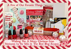 A Few of Our Favorite Things Giveaway worth $100 - Memories by the Mile
