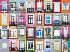 Porto, Portugal Ventanas del mundo