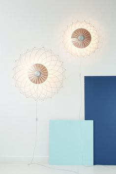 Lite│Lite is an open lamp structure held together by tension.