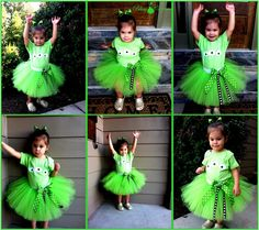 Toy Story Alien Eye Tutu Set Costume by www.BlissyCouture.net