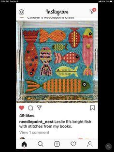 Needlepoint Stitches, Instagram
