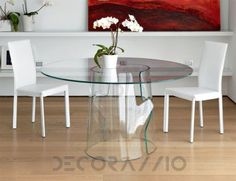 #transparent #furniture #interior #design обеденный стол Unico Italia TAVOLI, UI27