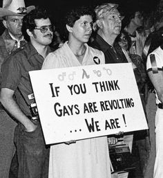 @TrashySoda Lgbt History, Protest Signs, Power To The People, Coming Of Age, Gay Pride, Social Justice, Equality, Thinking Of You, Politics