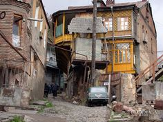 Run down Tbilisi Building Aesthetic, Georgia Country, Photo Backgrounds, Adventure Awaits, Abandoned Places, Old Town, Travel Photos, Photo Galleries, Beautiful Places