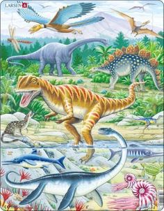 TOUCH this image: Praatplaat Dino's by Ellen Dinosaur Toys, Dinosaur Stuffed Animal, Dinosaur Images, Dinosaur Art, Creative Thinking, Toddler Toys, Baby Clothes Shops, Kids Learning, Mammals