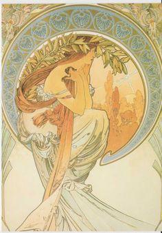 Prauge, Alphonse Mucha