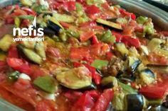 Kavanozda Kışlık Kızartma Turkish Recipes, Ethnic Recipes, Turkish Kitchen, Romanian Food, Homemade Beauty Products, Winter Food, Kung Pao Chicken, Salsa, Food And Drink