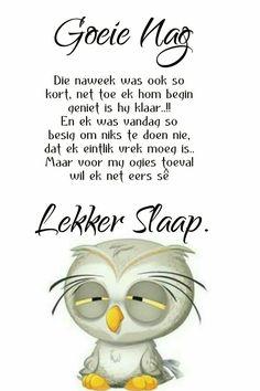 Goeie Nag, Afrikaans, Good Night, Poems, Sayings, Christmas, Beautiful, Yule, Navidad
