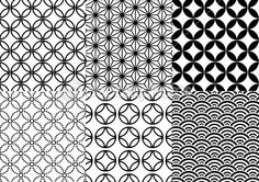 Buy Seamless Japanese Pattern by amourfou on GraphicRiver. Set of seamless japanese patterns, vector AI EPS 8 and high resolution JPG pixel included. Geometric Patterns, Geometric Designs, Textile Patterns, Print Patterns, Japanese Patterns, Japanese Prints, Japanese Design, Japanese Art, Chinese Design