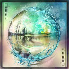 "Threyda | Art & Goods | ""Europa/ Water Portal"" by Peter Westerman  #vibes #indigo #moonchild#consciousness #kundalini #spaceporn #synchronicity #alchemy #highervibes #chakra #goddess #higherself #moonphases #om #divine #thirdeye #threyda #peace #awakening #crystals #love #art #hippie #universe #cosmos #zen #psychedelic #goodvibes #magic #denver #colorado #trippy #painting #sculpture #digitalart  #peterwesterman #threyda"