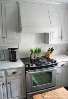 Our Kitchen Makeover on a Budget (Phase 1)  by Dear Lillie