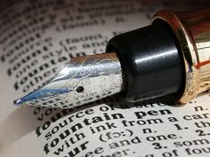 Dictionary Definitions #2 Fountain Pen by Mukumbura, via Flickr