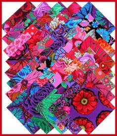 Kaffe Fassett Quilting Fabrics | Kaffe Fassett BOLD BRIGHT 5 Quilting Fabric by materialgirlchic
