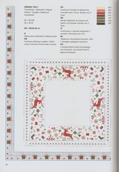 Cross Stitch Charts, Cross Stitch Patterns, Chart Design, Christmas Cross, Holidays And Events, Cross Stitching, Needlework, Christmas Decorations, Bullet Journal