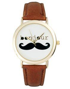 Moustache watch