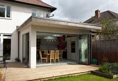 A professional architect will help you design your home extensions London, according to the local laws of house construction, requirements and restrictions of a home extension. House Extension Cost, Extension Veranda, Glass Extension, Roof Extension, Extension Google, Extension Ideas, Garden Room Extensions, House Extensions, Single Storey Extension