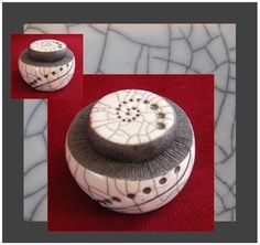 Boite en raku : Art céramique par kail-raku-et-compagnie