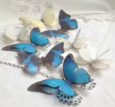 sophie matthews from flutter designs uses appliglue in creating these exquisite butterflies