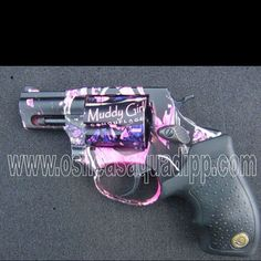 Love this gun coated in Muddy Girl Camo:)