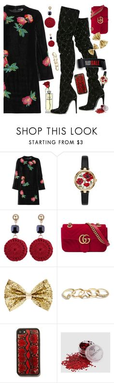 """Black Friday Finds"" by petalp ❤ liked on Polyvore featuring AlexaChung, Chanel, Balmain, Kate Spade, Gucci, GUESS and polyvoreeditorial"