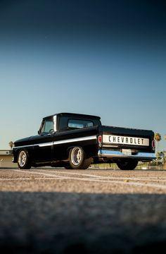 Vintage Trucks Classic 1964 Chevy - What Goes Around… - Hot Rod Network C10 Trucks, Chevy Pickup Trucks, Hot Rod Trucks, Chevrolet Trucks, Lifted Trucks, Chevy Trucks Older, Chevy C10, Chevy Pickups, Gmc Suv