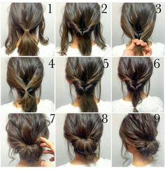 Quick Hairstyles For Work Hairstyles Image Tpvu Up Hairstyles, Pretty Hairstyles, Quick Easy Hairstyles, Office Hairstyles, Natural Hairstyles, Hairstyle Ideas, Easy Wedding Hairstyles, Step Hairstyle, Teenage Hairstyles