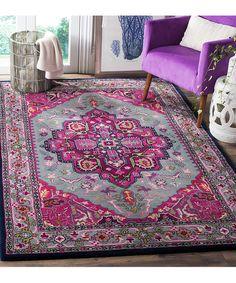 safavieh bellagio charlton handtufted area rug or runner pink