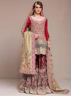 New and Unique Zainab Chottani Bridal Wear Dresses 2017 for Girls http://www.fashioncluba.com/2017/01/unique-zainab-chottani-bridal-wear-dresses-2017-for-girls.html