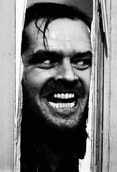 """""""Here's Johnny!"""" The Shining (1980)"""
