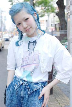 japanese streets  Harajuku Fashion
