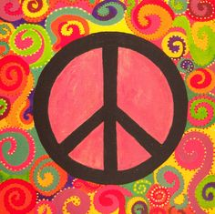 peace sign paintings | Peace Sign by ~kss-art on deviantART