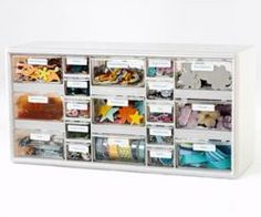 Craft Storage with Hardware Storage Cabinets