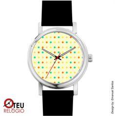 Mostrar detalhes para Relógio de pulso OTR PADRÃO PAD 0019