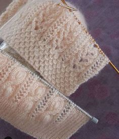 photo suzan_ve_elisi 👌👏👏 . Baby Knitting Patterns, Knitting Stitches, Knitting Designs, Stitch Patterns, Crochet Patterns, Diy Crafts Knitting, Easy Knitting, Knitting For Beginners, Knitting Daily