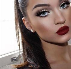 pinterest: nycgoddess classic glam makeup